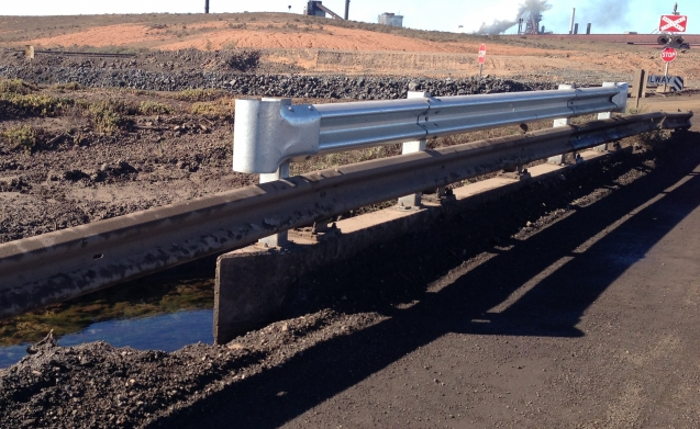 Armco barrier installations, upgrades and repairs.